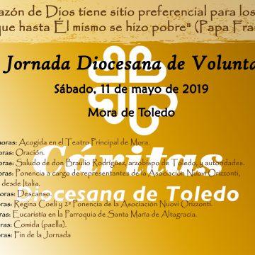 CARTEL JORNADA VOLUNTARIADO 2019 con horario