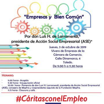 CARTEL JORNADA EMPRESAS CON HORARIO