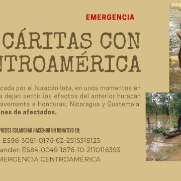 CÁRITAS CON CENTROAMÉRICA