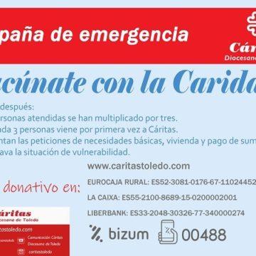VACUNATE CARIDAD CUENTAS BANCARIAS WEB
